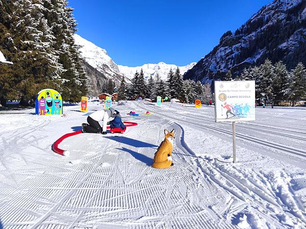 In Val di Gressoney in inverno con bambini: le migliori attività sulla neve